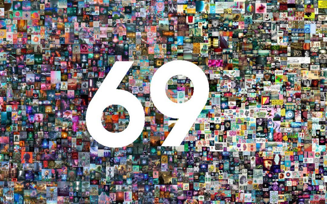 Beeple Everyday NFT Kunstwerk voor 69 miljoen geveild