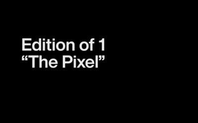 Één grijze pixel door Sotheby's verkocht als NFT voor ruim $1.4 miljoen!
