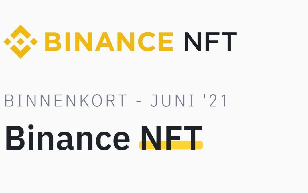 Binance komt met NFT Marktplaats met Refinable