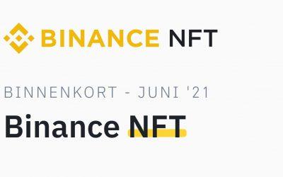 Binance lanceert NFT-marktplaats, met Refinable?