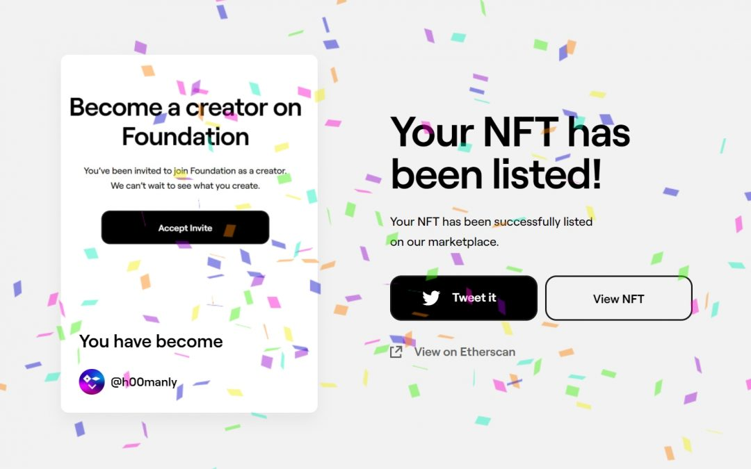Hoe verkoop je NFT's op Premium Marktplaats Foundation.app? -Stappenplan